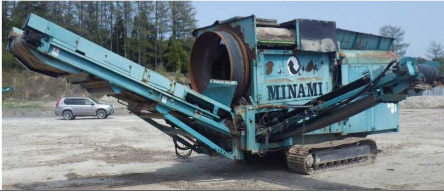 回転式選別機 MKT511