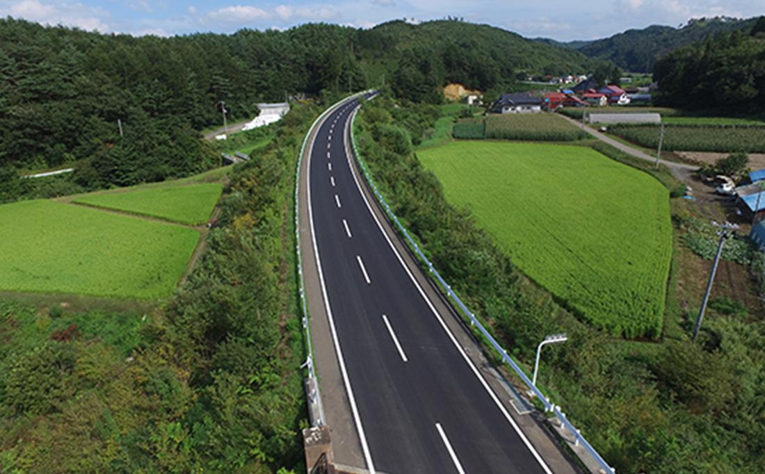 主要地方道戸呂町軽米線上舘地区ほか舗装補修工事